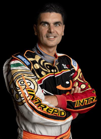 Marco Barber en pilote de course