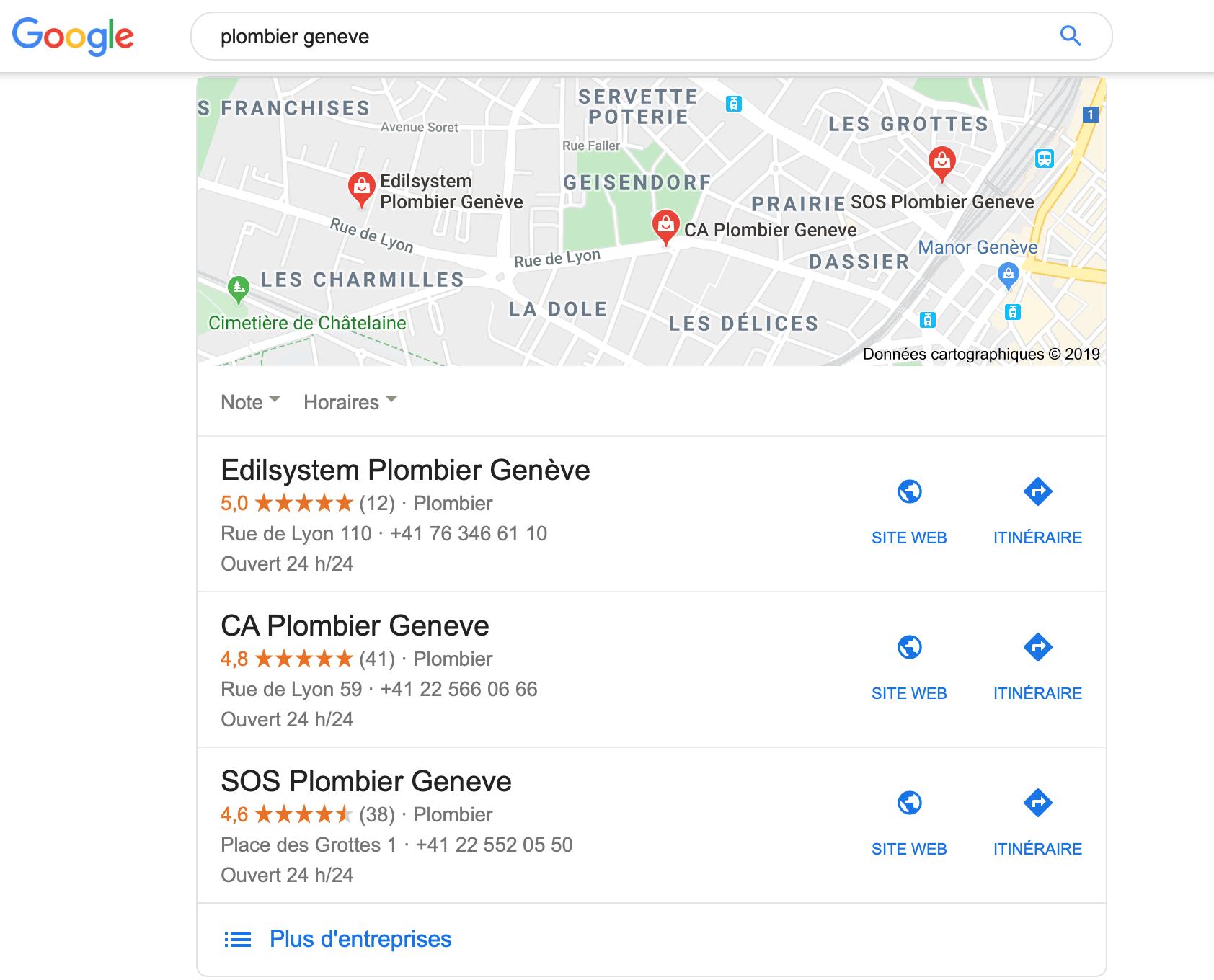 local box Google My Business