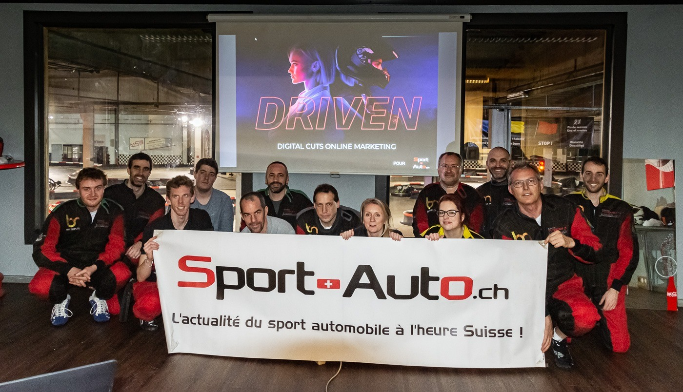 Team Building et Atelier Driven pour Sport Auto