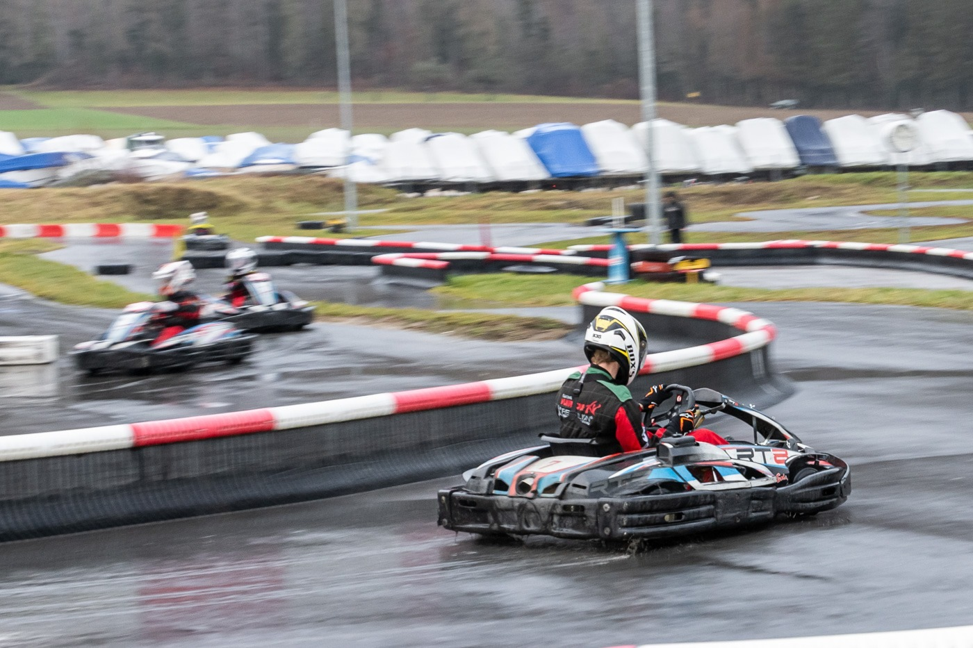 Pilotage Karting et team building