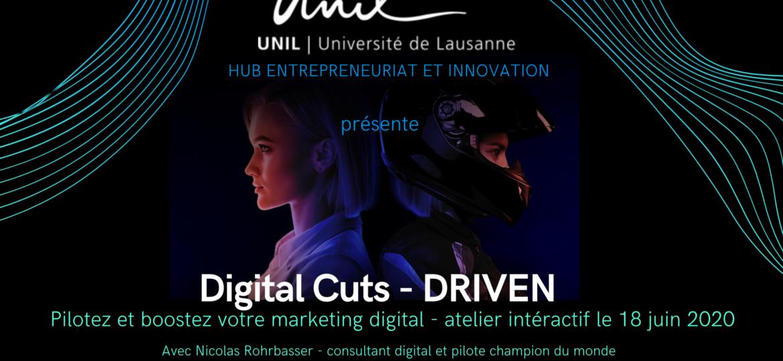 Affiche DRIVEN pour l'Université de Lausanne