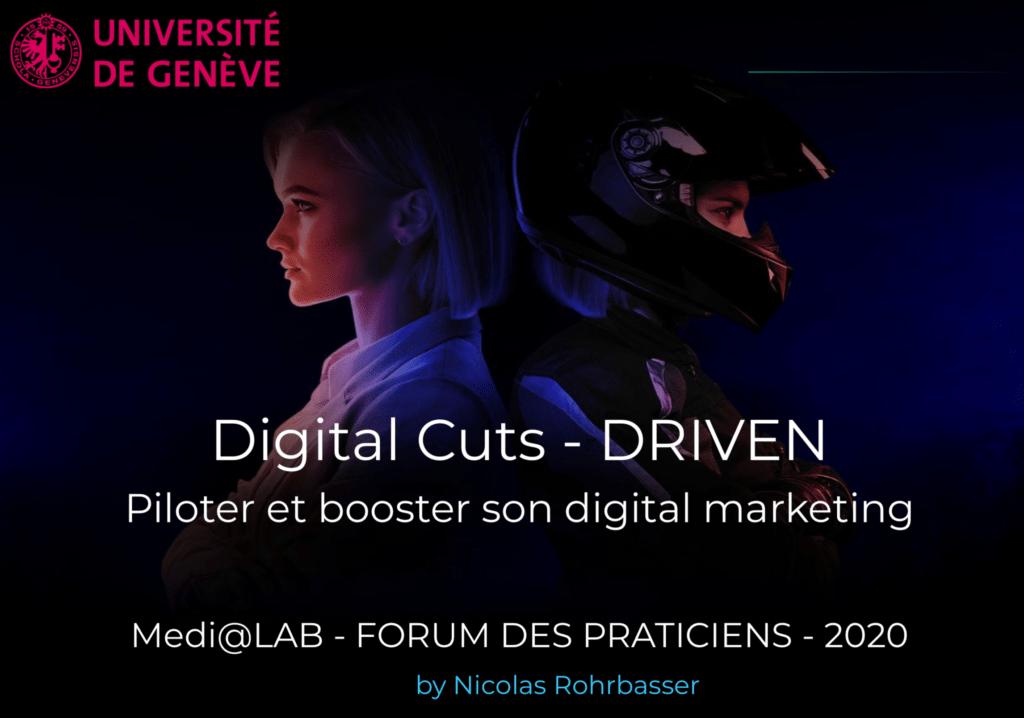 Affiche de l'événement DRIVEN à l'Université de Genève